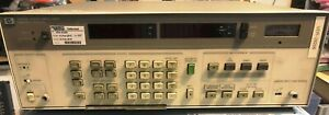 Hp 8903b Audio Analyzer Sold For Parts Not Working not Power On