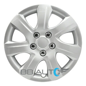 New 16 Inch Silver Hubcap Wheel Cover For 2010 2011 Toyota Camry