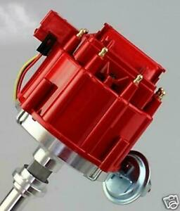 Hei Distributor Procomp Chevrolet Chevy Sbc Bbc With Hd 65000 Volt Coil Red Cap
