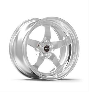 Weld Racing Rts Forged 17x10 5x120mm Alum 3pc Polished Each Wheel 71hp7100n72a