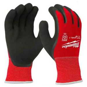Milwaukee 48 22 8912b Cut Level 1 Winter Insulated Gloves Large 12pk New