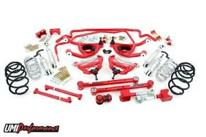 Umi Performance 64 Chevelle Suspension Handling Kit Stage 4 2 Drop Spring