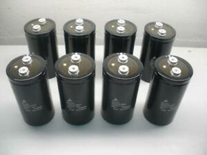 Lot Of 8 Epcos B4355 a2109 m 250v 10000 Uf Capacitor