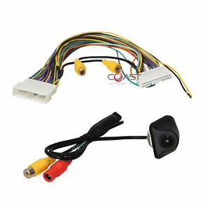 Reverse Backup Camera T harness W Rear View Camera For Select Toyota Vehicles