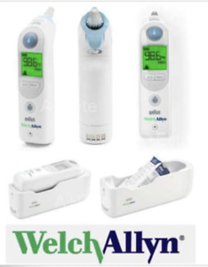 Welch Allyn Braun Thermoscan Pro 6000 Tympanic Ear Exactemp Medical Thermometer