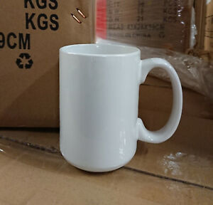 36pcs X 15oz White Sublimation Coated Blank Mugs mixed A b Grade