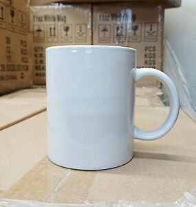 36pcs X 11oz White Sublimation Coated Blank Mugs mixed A b Grade