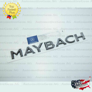 Oem Genuine Maybach Trunk Letter Emblem Badge Rear Luggage Lid Mercedes Amg S650