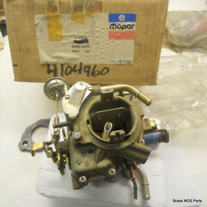 Nos Mopar 1976 1977 Plymouth Dodge Factory New Holley Carburetor With 225 6 cyl