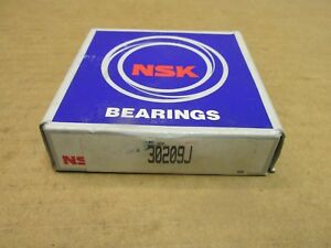 Nsk 30209j Tapered Roller Bearing Set Cone Cup 30209 J 45mm Id 85mm Od