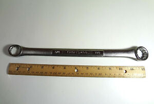 Craftsman Tools Double Box End Wrench Hand Tool Forge In The Usa 3 4 X 7 8
