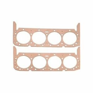 Summit Racing Head Gaskets Copper 4 320 Bore 043 Compressed Thickness Bbc Pr