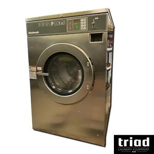 08 Huebsch 40lb Coin Op Washer Unimac Dexter Laundromat Speed Queen Ipso