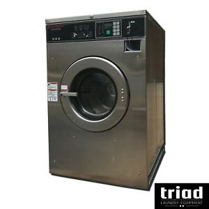 05 Speed Queen 30lb Coin Commercial Washer 3ph Laundromat Huebsch Unimac Ipso
