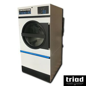 10 Continental 35lb Electric Commercial Dryer Opl Wascomat Speed Queen Hotel