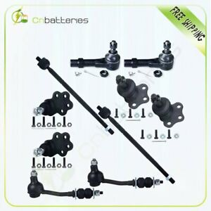 For 1999 Dodge Durango 2wd Steering 10pcs Ball Joint Tie Rod Sway Bar Link Set