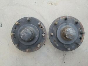 Front Hubs 63 70 Chevrolet Gmc 3 4 Ton See Interchange Notes