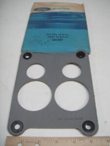 Nos Oem Genuine Ford Lincoln 1974 460 Gasket Carb To Intake Spacer D4vy 9c477 a