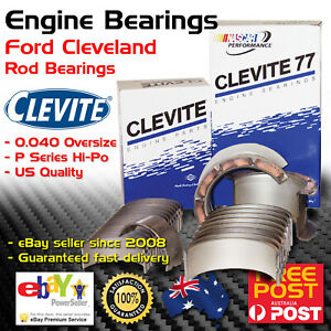 Clevite Cb927 Engine Conrod Rod Bearings For Ford Cleveland 302 351 040