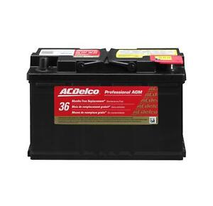 Acdelco 88864542 Battery Professional Automotive Agm Starting 12 V 1020 Cranking