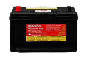 Acdelco 65agmhr Battery Professional Automotive Agm Starting 12 V 900 Cranking