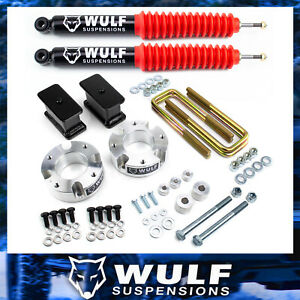 3 Front 3 Rear Lift Kit W Wulf Shocks Fits 2007 2019 Toyota Tundra 4x4 4wd