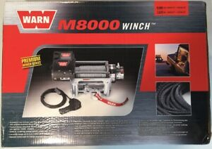 Warn Industries M8000 Self recovery Winch Part 26502 With Steel Cable