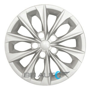 New 16 Silver Hubcap Rim Wheel Cover For 2015 2018 Toyota Camry L Le