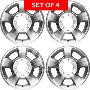 New Four 17 Replacement Alloy Silver Wheel Rim Fits Dodge Ram 1500 2006 2008