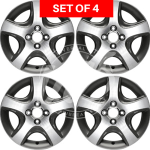 New Four 15 Inch Replacement Alloy Wheel Rim Fits Honda Civic 2004 2005 5 Spoke