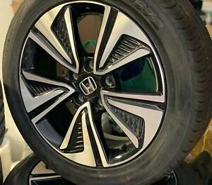 4x Genuine Honda Civic 2019 17 Alloy Wheels And Nexen Tyres Fits All Civic