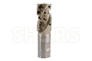 1 1 2 90 Indexable Coolant Weldon Shank Helical End Mill Apkt1604 Insert P