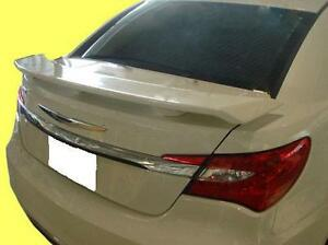 3 Post Style Rear Spoiler Painted Fits 2011 2012 Chrysler 200