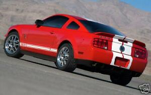 Factory Style Shelby Gt 500 Spoiler Painted Fits 2005 2009 Ford Mustang