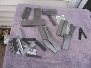 20 Pair Connecticut Toolmaker Parallels Parallel Hardened Steel Tool Tools