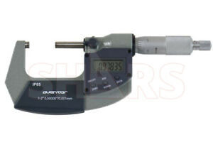 Shars 2 3 0 00005 0 001mm Digital Electronic Outside Micrometer Ip65 New P