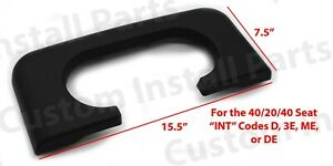 Center Console Cup Holder Pad Replacement Dark Flint Fits Ford F250 350 450 99