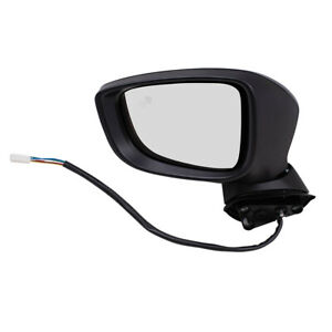 Drivers Power Side Mirror Heated Signal Blind Spot Detection For 14 16 Mazda 3