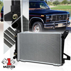 Aluminum Radiator Oe Replacement For 85 97 Ford F150 f250 f350 bronco At 1453