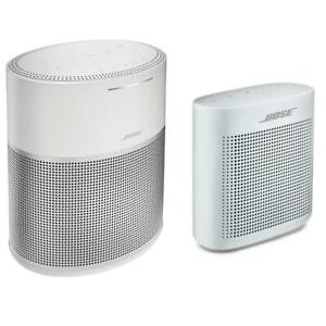 Bose Home Speaker 300Silver WBose SoundLink Bluetooth Speaker IIPearl White