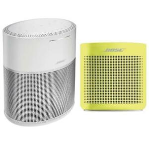 Bose Home Speaker 300Silver WBose SoundLink Color Bluetooth Speaker II Yellow