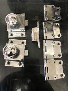 Vintage Medical Cabinet Lock And Hinges