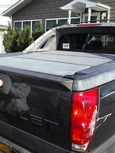02 13 Chevy Avalanche Tonneau Bed Cargo Cover Panels Full Set Oem Gray Set