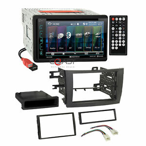 Power Acoustik Dvd Dual Usb Stereo Gry Dash Kit Harness For 09 Toyota Corolla