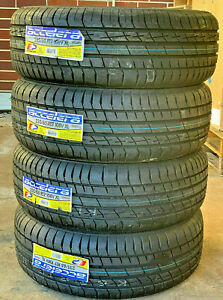 4 New 235 65r17 Accelera Iota St68 Performance Sport Set Of Four Tires 108v Xl