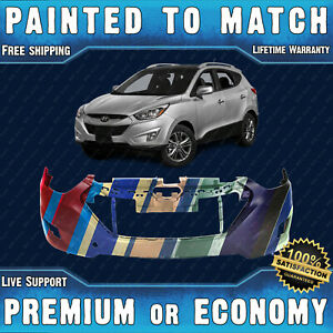 New Painted To Match Front Bumper Replacement For 2010 2015 Hyundai Tucson 10 15