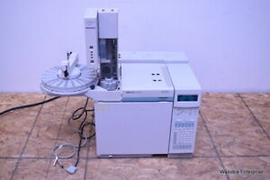 Hp 6890 Series Plus Gas Chromatograph Gc With Agilent 6890 Series Injector