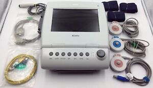 2017 Edan F6 Fetal Maternal Monitor With Accessories Included In Pictures