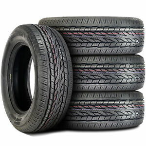 4 New Continental Conticrosscontact Lx 2 265 65r18 114h As All Season Tires