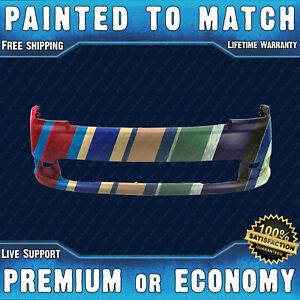 New Painted To Match Front Bumper Replacement For 2013 2019 Ford Flex W Park